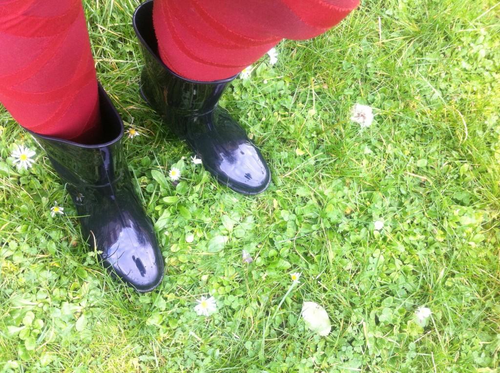 Mes jolies bottes de pluie