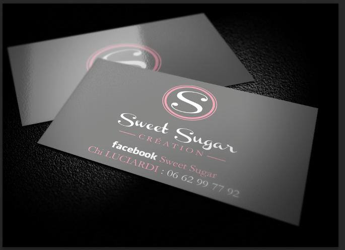 Carte de visite Sweet Sugar