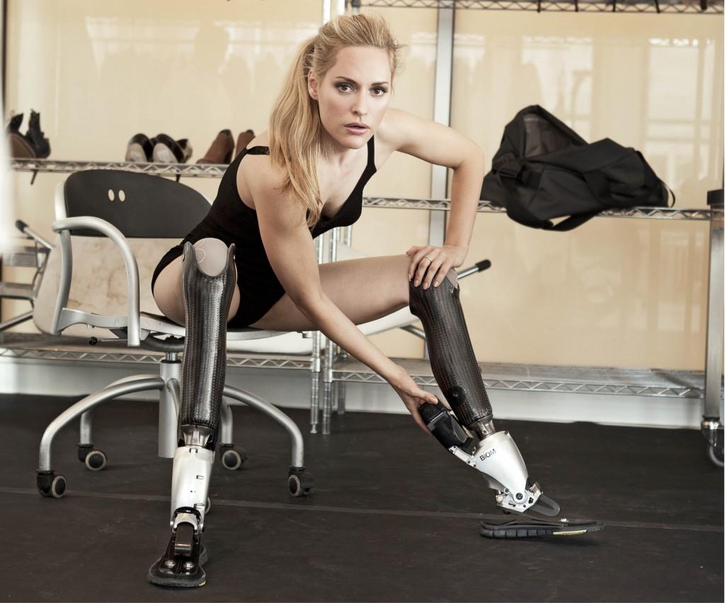 Aimee Mullins athlète handisport et mannequin