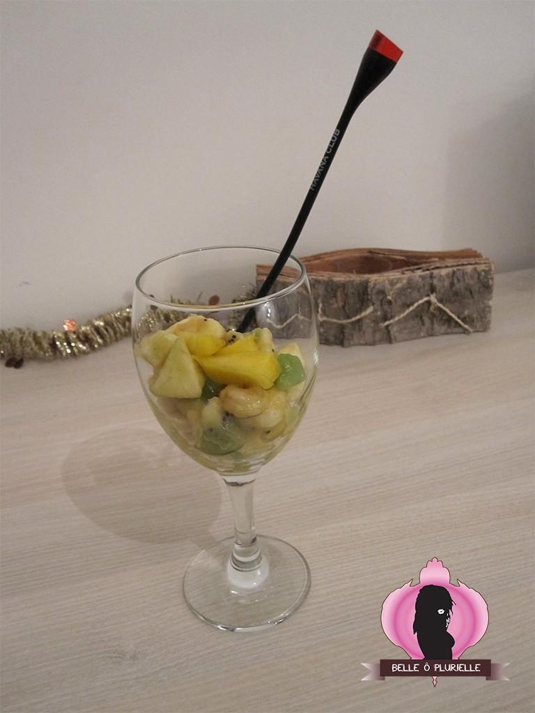 Salade de fruit spécial forme