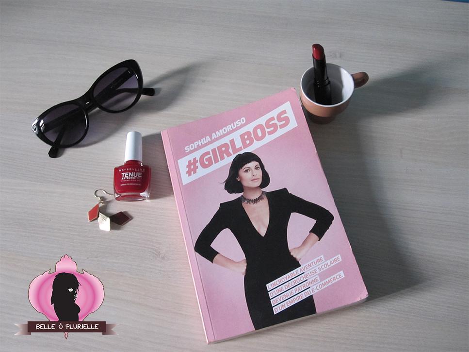 #Girlboss, Sophia Amoruso couverture Belleoplurielle